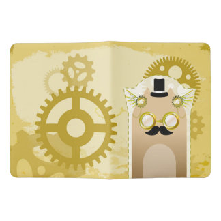 Steampunk+Cat Notebook