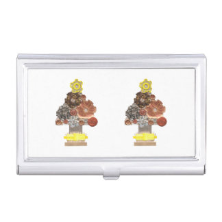 Steampunk Christmas Tree Business Card Holder