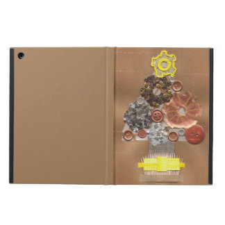 Steampunk Christmas Tree I-Pad Case