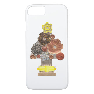 Steampunk Christmas Tree I-Phone 8/7 Case