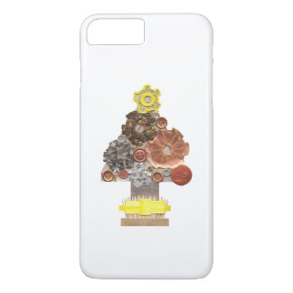 Steampunk Christmas Tree I-Phone 8/7 Plus Case