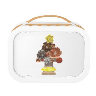 Steampunk Christmas Tree Lunchbox