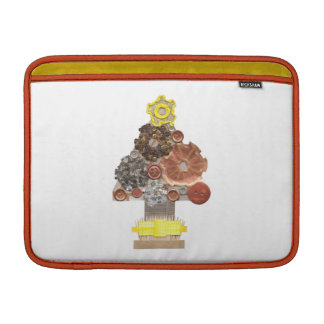 Steampunk Christmas Tree Macbook Air Sleeve