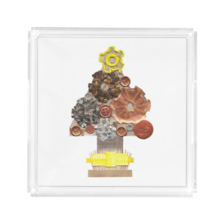 Steampunk Christmas Tree Perfume Tray