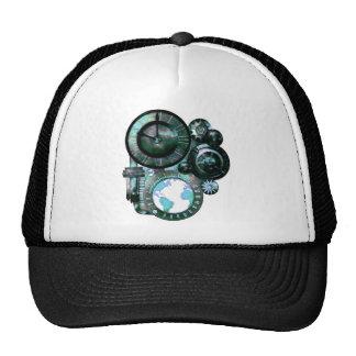 Steampunk Clock Trucker Hat