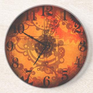 Steampunk Clock Coaster