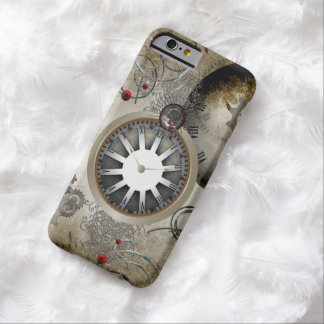 Steampunk, clocks and gears barely there iPhone 6 case
