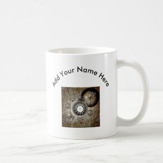 Steampunk, clocks and gears coffee mug