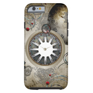 Steampunk, clocks and gears tough iPhone 6 case