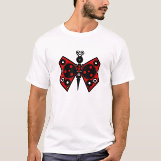 Steampunk Clockwork Butterfly with Gears T-Shirt