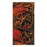 Steampunk - Clockwork Photo Greeting Card