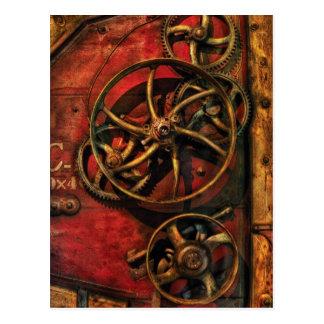 Steampunk - Clockwork Postcard