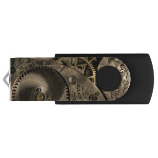 Steampunk Clockwork USB Flash Drive