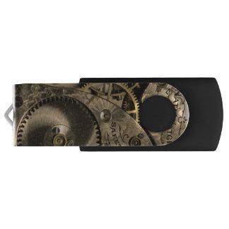 Steampunk Clockwork USB Flash Drive Swivel USB 2.0 Flash Drive