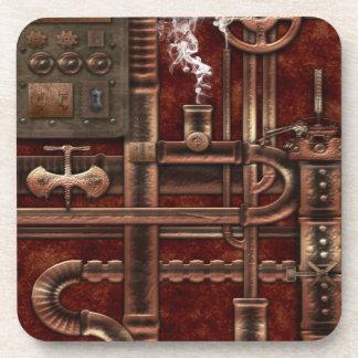 Steampunk Coaster Set