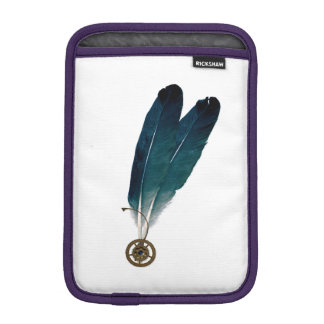 Steampunk Cogs and Feathers iPad Mini Sleeve