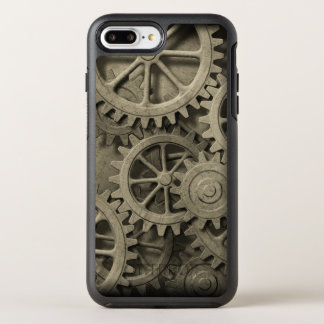 Steampunk Cogwheels OtterBox Symmetry iPhone 8 Plus/7 Plus Case