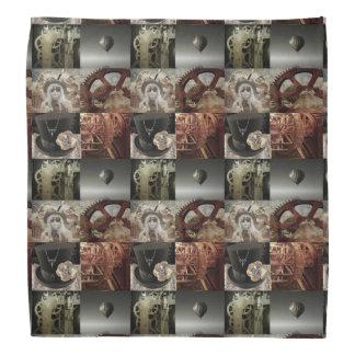Steampunk Collage bandana