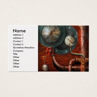 Steampunk - Controls Business Card