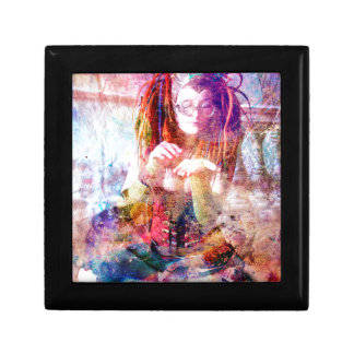 STEAMPUNK CRYSTAL QUEEN SMALL SQUARE GIFT BOX