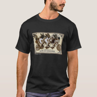 Steampunk Cyclists Tshirt