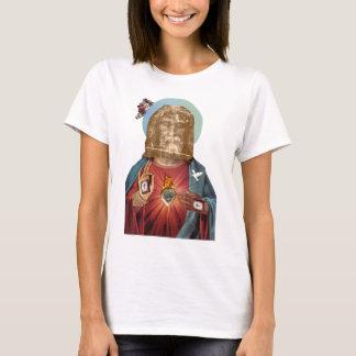 Steampunk Dada Religious Figure (Benediction Dada) T-Shirt