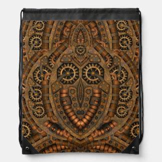 Steampunk Drawstring Backpack