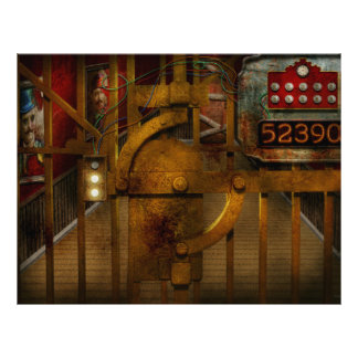 Steampunk - Dystopia - The Vault Full Color Flyer