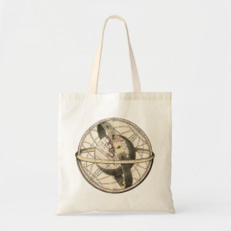 Steampunk Explorer's Budget Tote Bag