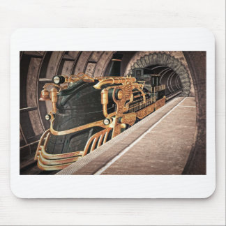 Steampunk Express Mouse Pad