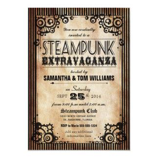 Steampunk Extravaganza Party Invitation