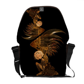 Steampunk Fantasy Messenger Bag