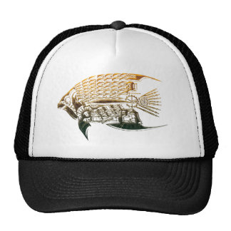 Steampunk fish hat