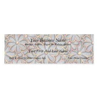 Steampunk Flower Power Business Cards
