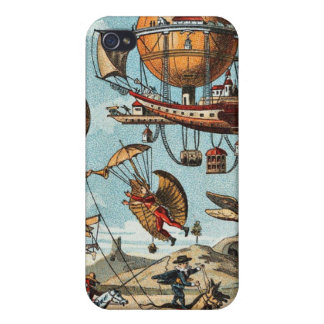 Steampunk Flying Machinery! iPhone 4/4S Cases