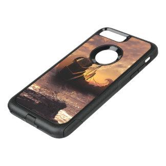 Steampunk Fractalscape, Ship for All Destinations OtterBox Commuter iPhone 8 Plus/7 Plus Case