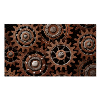 Steampunk Gears Pack Of Standard Business Cards