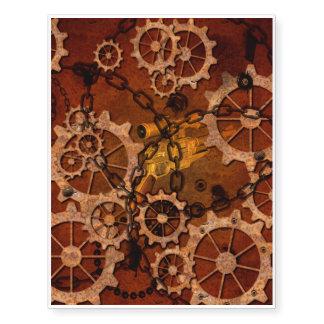 Steampunk, gears in rusty metal