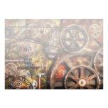 Steampunk - Gears - Inner Workings Custom Invitation