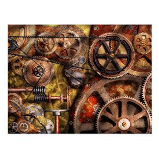 Steampunk - Gears - Inner Workings Postcard