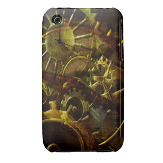 Steampunk Gears iPhone 3 Case-Mate Case
