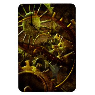 Steampunk Gears Rectangular Photo Magnet