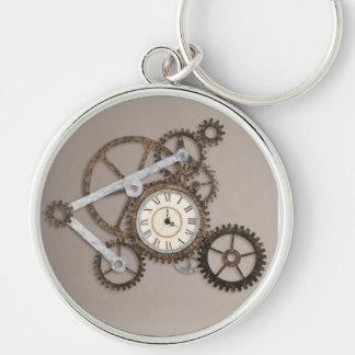 Steampunk Gears Two Key Ring
