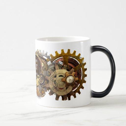 Steampunk Get it in Gear Mug