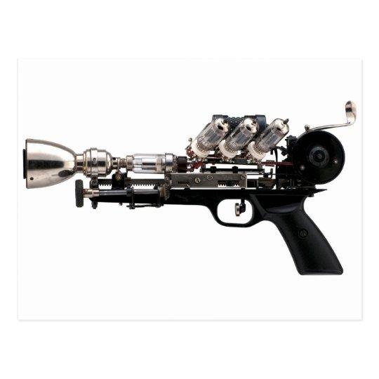 Steampunk Gun Postcard