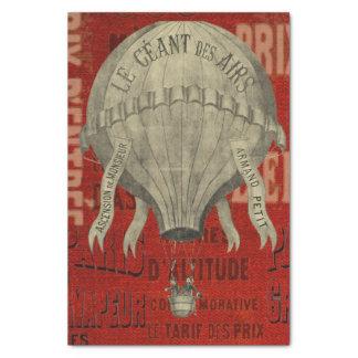 Steampunk Hot Air Ballon Ride Graphic Fonts Tissue Paper