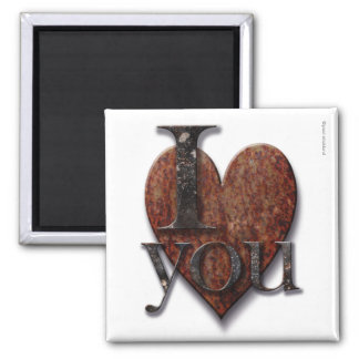 Steampunk I Love You Valentine Magnet