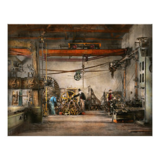 Steampunk - In an old clock shop 1866 21.5 Cm X 28 Cm Flyer