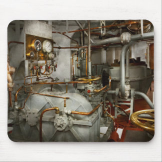 Steampunk - In the engine room Mouse Pad