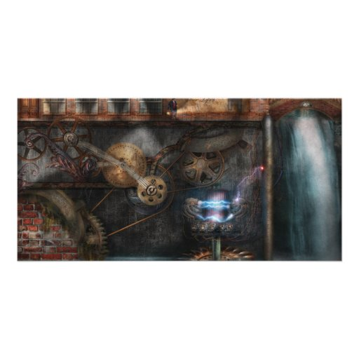 Steampunk - Industrial Society Picture Card